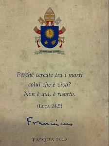papieskie zyczenia 2013